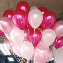 헬륨풍선-핑크톤 (50개무료배달)